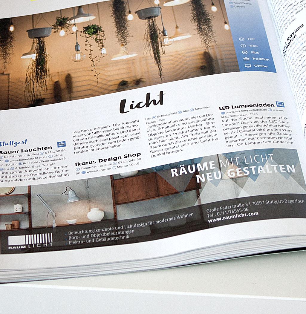 Anzeige im LIFT – Das Stuttgartmagazin