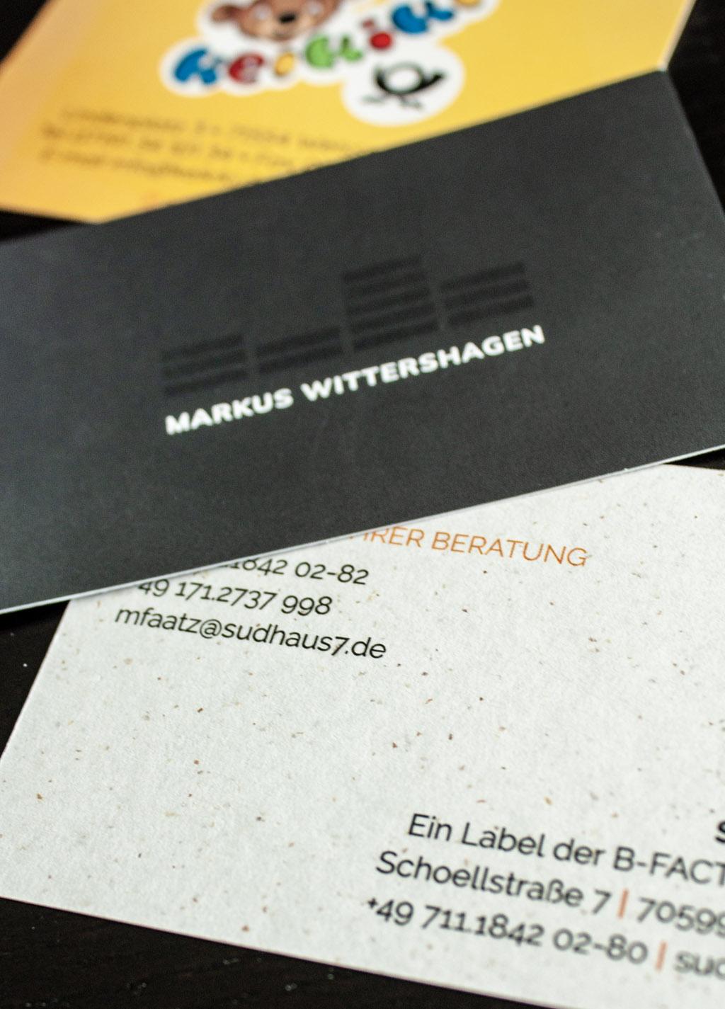 Visitenkarten Sudhaus7