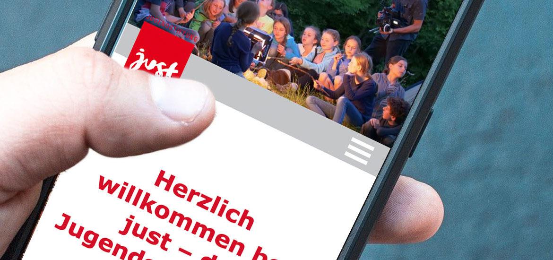 Just Mobile Website
